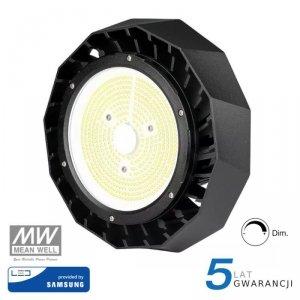 Oprawa V-TAC LED High Bay SAMSUNG CHIP 200W Meanwell 140lm/W VT-9-200 6400K 28000lm 5 Lat Gwarancji