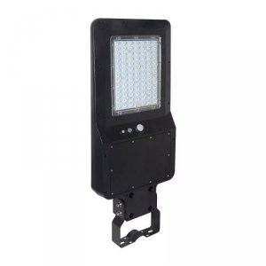 Oprawa Uliczna Solarna V-TAC 40W LED Czarna IP65 120lm/W VT-ST42 6000K 4800lm 3 Lata Gwarancji
