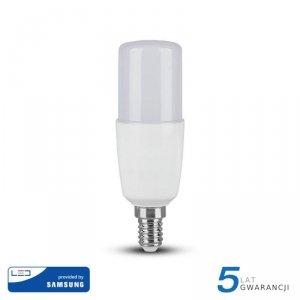 Żarówka LED V-TAC SAMSUNG CHIP 8W E14 T37 VT-248 4000K 660lm 5 Lat Gwarancji