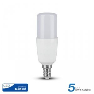 Żarówka LED V-TAC SAMSUNG CHIP 8W E14 T37 VT-248 6400K 660lm 5 Lat Gwarancji
