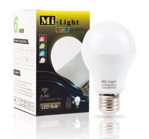 Żarówka LED E27 6W RGBWCCT Milight FUT014