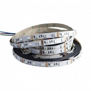 TAŚMA LED 14,4W RGB 5050 300LED/5m ip20