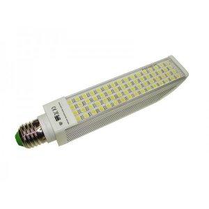 Żarówka  LED PL E27 13W 230V BIAŁY ZIMNY