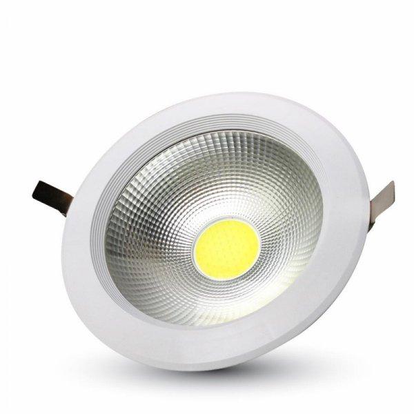 Oprawa V-TAC 20W LED V-TAC COB Downlight Reflector Biały VT-2620 6000K 1500lm