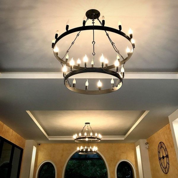 Żarówka LED V-TAC SAMSUNG CHIP 5.5W E14 Świeczka Płomyk VT-258 4000K 470lm 5 Lat Gwarancji