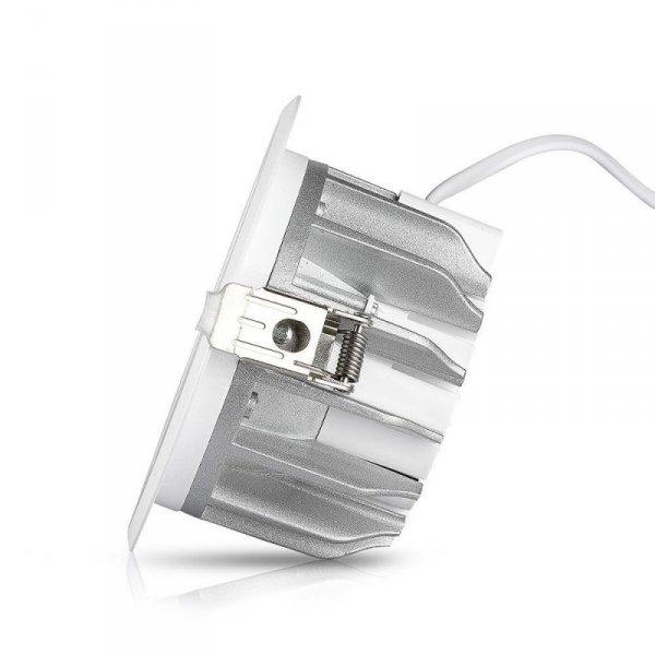 Oprawa 10W LED V-TAC COB Downlight Okrągły A++ 120lm/W VT-26101 4000K 1200lm
