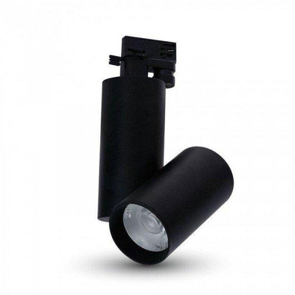 Oprawa Track Light LED V-TAC 30W 24st Czarny VT-4635 6400K 2700lm 5 Lat Gwarancji