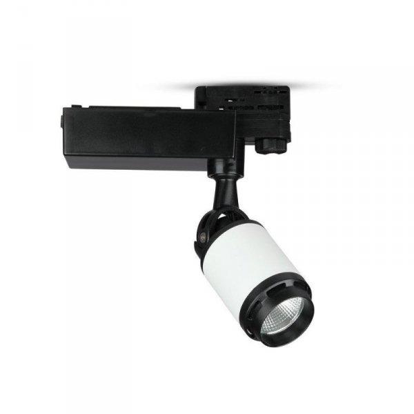 Oprawa Track Light LED V-TAC 25W 24st Czarny Biały VT-4528 3000K 2100lm
