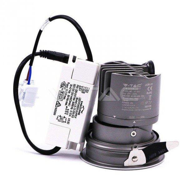 Oprawa LED Downlight V-TAC 10W COB CREE CRI95+ UGR19 24st VT-2911 4000K 650lm 5 Lat Gwarancji