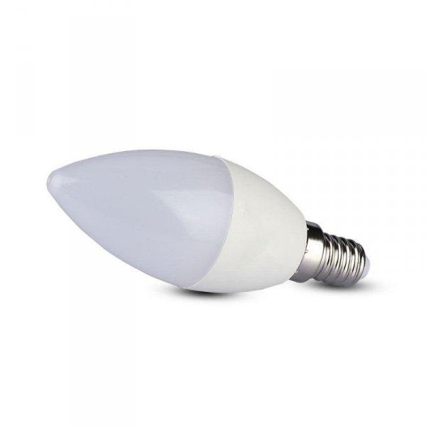 Żarówka LED V-TAC SAMSUNG CHIP 5.5W E14 Świeczka VT-226 6400K 470lm 5 Lat Gwarancji