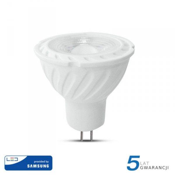 Żarówka LED V-TAC SAMSUNG CHIP 6.5W GU5.3 MR16 12V 110st VT-257 4000K 450lm 5 Lat Gwarancji