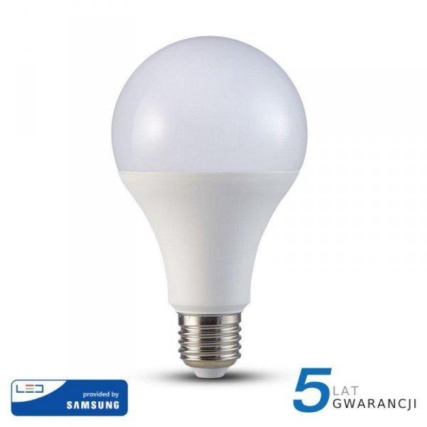 Żarówka LED V-TAC SAMSUNG CHIP 20W E27 A80 VT-233 4000K 2452lm 5 Lat Gwarancji