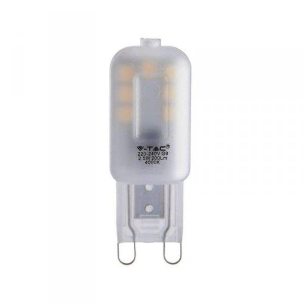 Żarówka LED V-TAC SAMSUNG CHIP 2.5W G9 VT-203 3000K 200lm 5 Lat Gwarancji