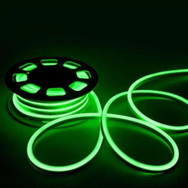 Neon Flex 24V 10mb 8W/m V-TAC VT-555 Zielony 320lm