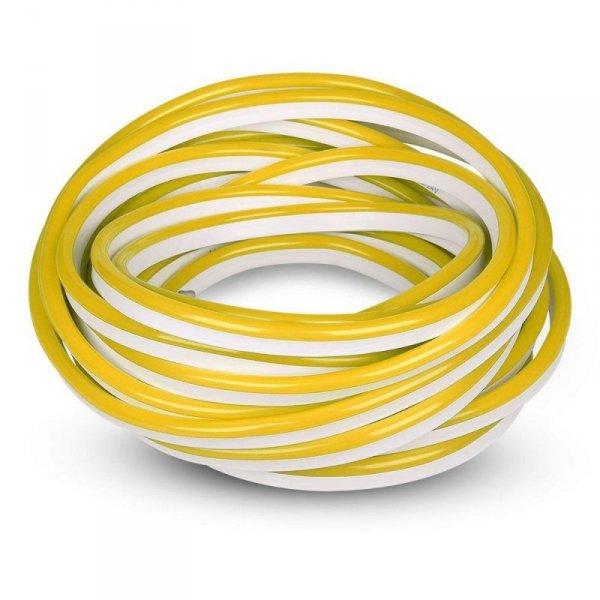 Neon Flex 24V 10mb 8W/m 10mb V-TAC VT-555 Żółty 320lm