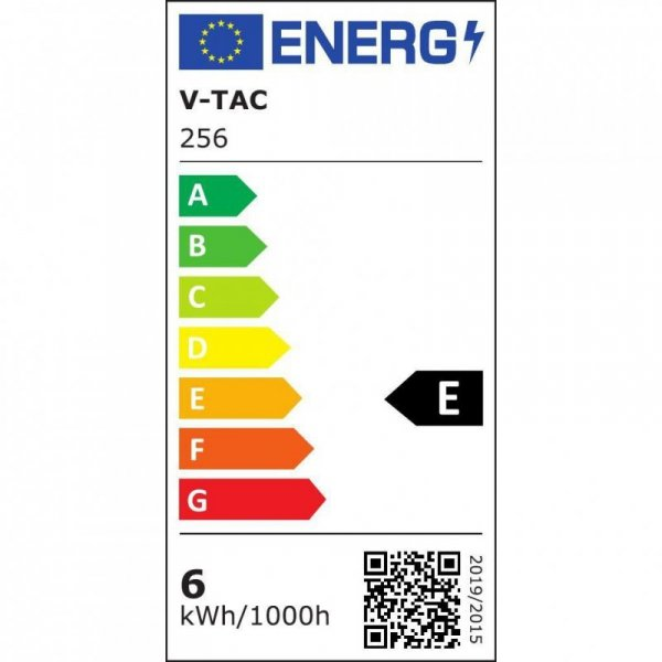 Żarówka LED V-TAC SAMSUNG CHIP 6.5W E27 A++ A60 VT-265 4000K 806lm 5 Lat Gwarancji
