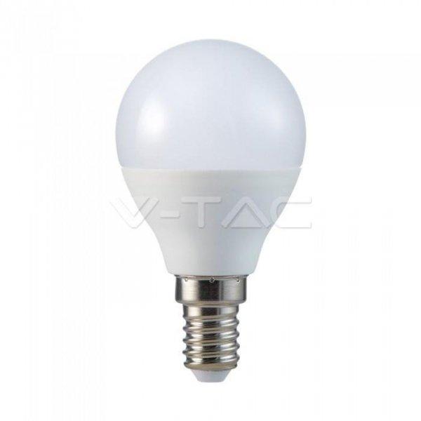 Żarówka LED V-TAC 5.5W E14 Kulka P45 (Opak. 6szt) VT-2266 2700K 470lm