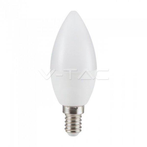 Żarówka LED V-TAC 5.5W E14 Świeczka (Opak. 6szt) VT-2246 3000K 470lm