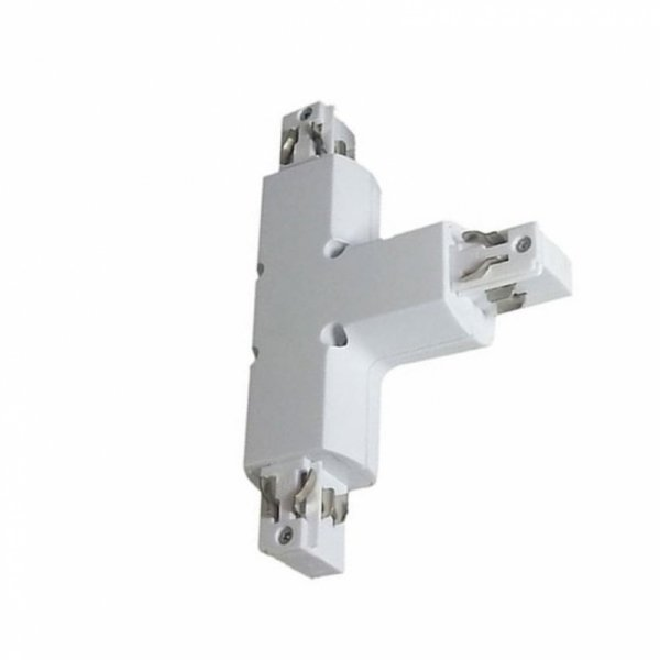 Łącznik Szynoprzewodu T Track Light 3 fazowy Biały V-TAC