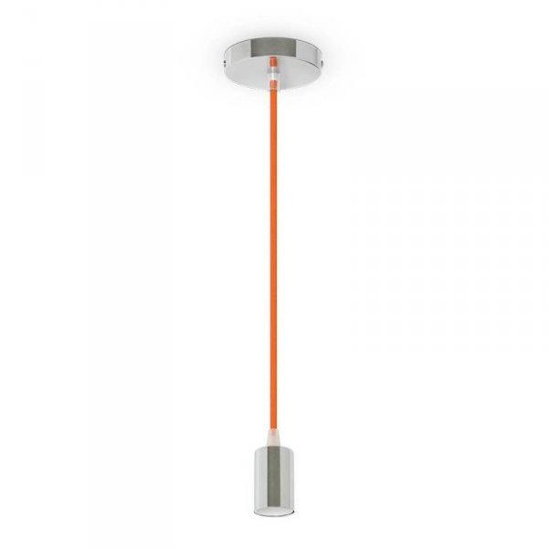 Oprawa Wisząca V-TAC Chrom Metal Pomarańczowy przewód VT-7338 5 Lat Gwarancji
