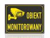 Tablica informacyjna obiekt monitorowany 29,7/21cm