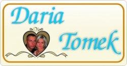 Imiona nowożeńców + zdjęcie