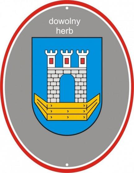 Herb gminy, herb miasta lub logo szkoły