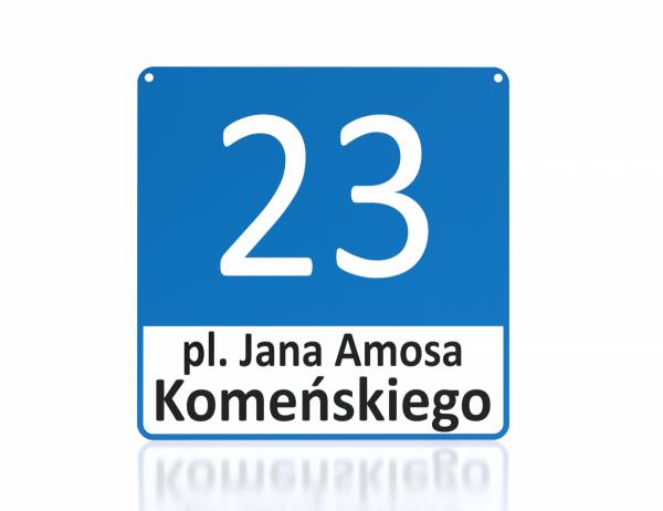 Tablica adresowa dla Leszna 30/30cm
