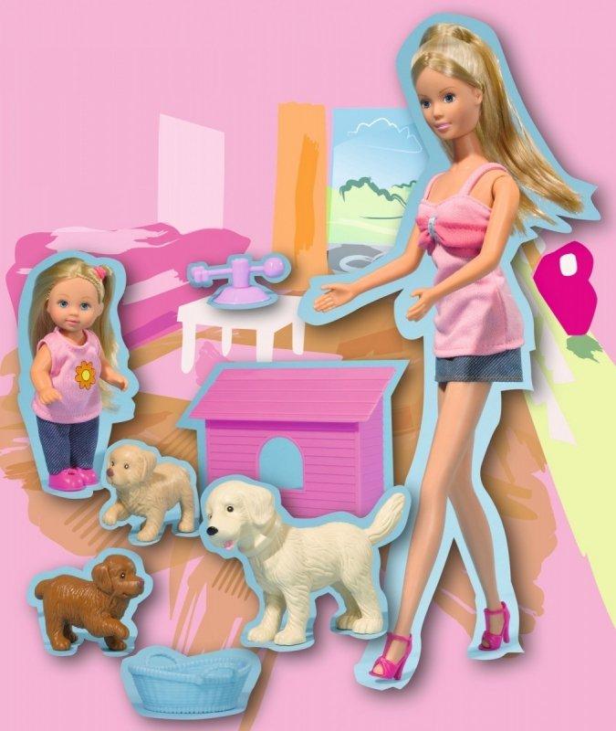 STEFFI i Evi ze zwierzątkami i akcesoriami