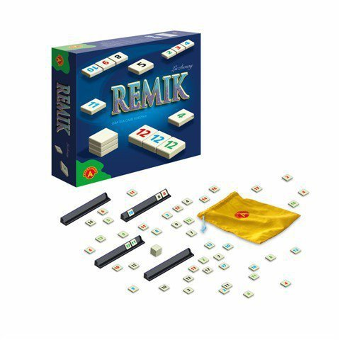Gra Remik Liczbowy De Luxe