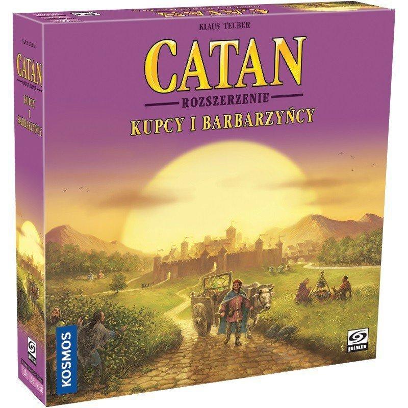 Gra Catan - Kupcy i Barbarzyńcy