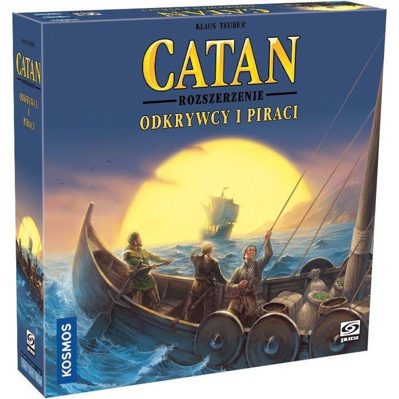 Gra Catan - Odkrywcy i Piraci