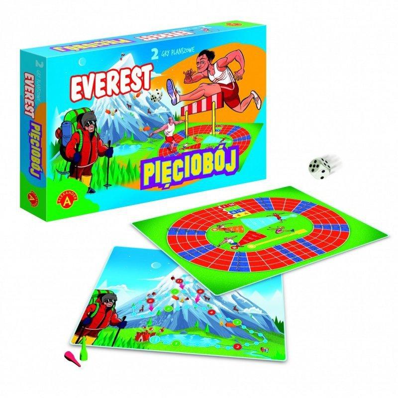 Gra Everest - Pięciobój