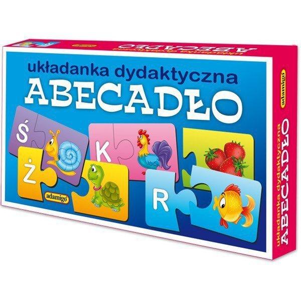 Układanka puzzlowa Abecadło