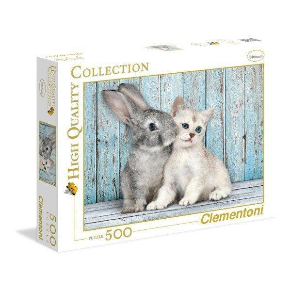 500 EL. Kot z królikiem