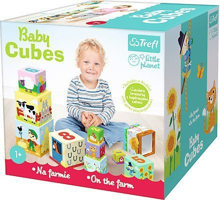 Baby cubes - Na farmie - Little planet