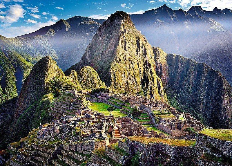 500 Elementów Zabytkowe sanktuarium Machu Picchu
