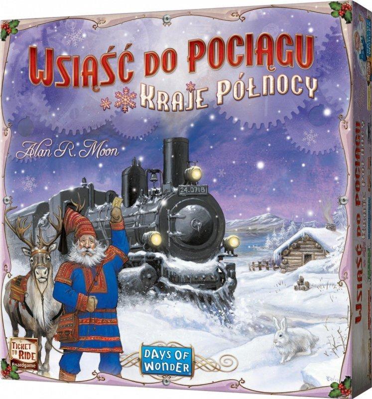 Gra Wsiąść do Pociągu - Kraje Północy
