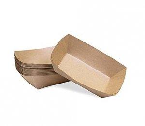 Tacka papierowa głęboka powlekana 500ml | 17,5x11,5cm, 250szt