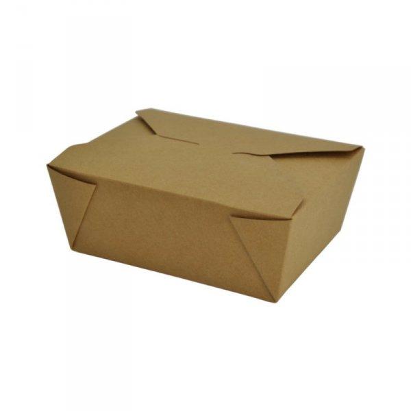 Pudełko papierowe lunchowe 1300ml, 50szt