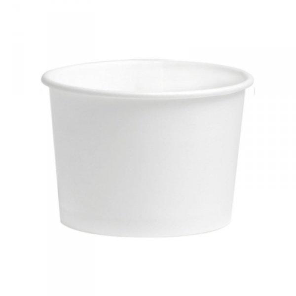 Kubek deserowy do lodów 200ml/8oz biały, 50szt