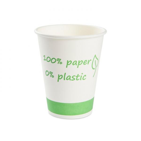 Kubek 0% PLASTIC biały 200ml | ø80mm, 50szt