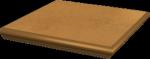 Paradyż Aquarius Brown Kapinos Stopnica Narożna 33x33