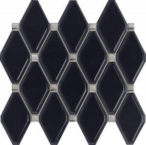 Tubądzin Abisso Navy Mozaika 29,8x27