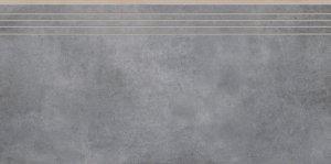 Cerrad Batista Steel Stopnica 29,7x59,7