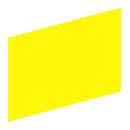 Tabliczka opisowa żółta prostokątna 19x27mm bez nadruku ZBY5102