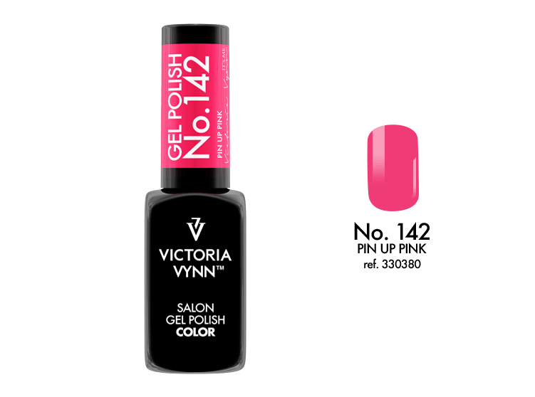 Victoria Vynn Salon Gel Polish COLOR kolor: No 142 Pin up pink