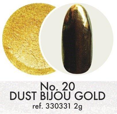 Pyłek dekoracyjny: Bijou Gold No.20