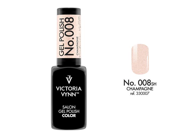 Victoria Vynn Salon Gel Polish COLOR kolor: No 008 Champagne