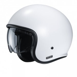 KASK HJC V30 SEMI FLAT PEARL WHITE XL